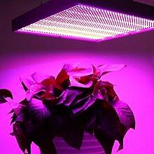 120W LED Pflanzenleuchte 1365pcs Rot&Blau SMD LED Pflanzenlampe Pflanzen Wachstumslampe Pflanzenlicht Wuchslampen Innengarten Pflanze wachsen Licht Hängeleuchte(EU Prise)