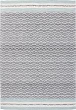 120x170 Teppich Mirage 110 Blau / Grau von Kayoom