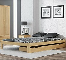 120x200 Bett mit Lattenrost Made in Germany
