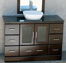 121.92 cm Bad Waschbeckenunterschrank aus Keramik,