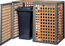 123 x 150 cm Mülltonnenbox ClearAmbient