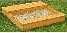 125 cm rechteckiger Sandkasten Win Freeport Park