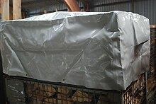125x85x50 cm Abdeckhaube Abdeckung Schutzhülle Schutzhaube EURO DB Gitterbox LkW-Plane (620 g/m²)