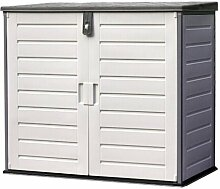 126 x 112 cm Mülltonnenbox Daubert aus Kunststoff
