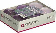 12er-Pack Jumbo Duftteelicht *Lavendel* Duft