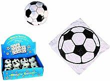 12er Set Magisches Zauber-Handtuch mit Fußball