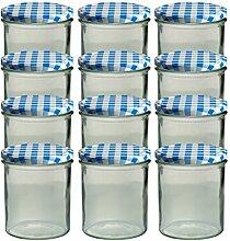 12er Set Sturzglas 350 ml Marmeladenglas