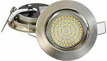 12er SET Ultraflacher 3,5 W LED Einbaustrahler