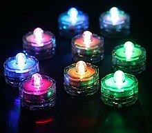 12er Set Unterwasser wasserdichte LED Teelichter