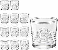 12er Set Whiskygläser OFFICINA, 30 cl, 10 oz, Ø