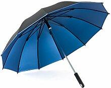 12K Windproof Long - Handled Regenschirm Männer Business Sunny Regenschirm Sonnenschutz Regenschirme Anti - UV ( Farbe : #1 )