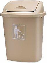 12L Mülleimer im Freien runden Klassenzimmer