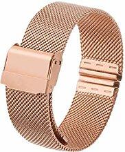 12mm 14mm 16mm 20mm Edelstahl-Armbandarmband für