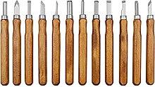 12pcs / Batch-Holzschnitzel-Messer-Set