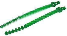 12pcs Baumbinder Straps Kunststoff Flexible