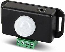 12V-24V Mini Einbau IR Bewegungsmelder - LED