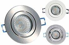 12V LED Bad + Dusche Einbauleuchte 2er + 5er SET