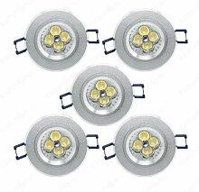 12V Led Einbauleuchte set Einbaulampen