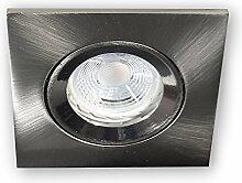 12V LED Einbaustrahler Modell 906 | Einbaugehäuse