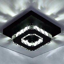 12W 20cm Quadrat LED Kristall Deckenleuchte