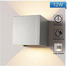 12W Dimmable Wandleuchte Aussen Wandlampe