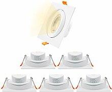 12W LED Groß Einbaustrahler Einbaulampen Strahler