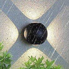 12W LED Wandleuchte Außen Wandlampe Wasserdicht