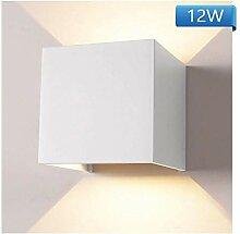 12W LED Wandleuchte Aussen Wandlampe Wasserdicht