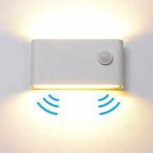 12W LED Wandleuchte Wandlampe mit Bewegungsmelder
