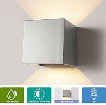 12W Wandleuchte Dimmbar Aussen/Innen LED