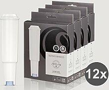 12x Filterpatrone Seltino BIANCO ersatzfilter für Jura Claris White 68739, 4x 3er-Pack!