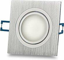 12x LED Einbaustrahler Set 3W neutralweiß 230V -
