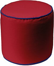 13 CASA Pouf Art. Bicolor 2 Cylindre ro