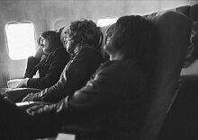 13 Led Zeppelin Jimmy Page, Robert Plant, John Bonham, John Paul Jones Great Rock Metal Album-Design-Band Musik-Motiv mit Bilderrahmen, für A4