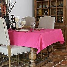 130x 180cm Pink Massiv minimalistischen