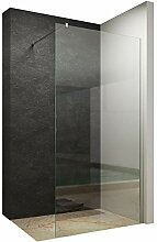 130x200cm Walk In Dusche 10mm Duschwand Glas