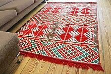 135x200 cm Orientalischer Teppich , Kelim,Kilim ,Carpet ,Bodenmatte ,Bodenbelag ,Rug,Wandteppich Neu aus Damaskunst S 1-4-22