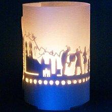 13gramm München-Skyline Windlicht Souvenir in der