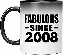 13th Birthday Fabulous Since 2008-11 Oz Color