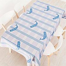 140*140cm violett Gingham ins Minimalistisch Instagram Tischdecken Baumwolle leinen Esstisch Rezeption rechteckigen quadrat nicht bügeln umweltfreundlich Tischtuch