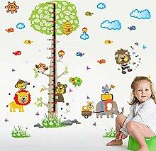 140 * 143cm große Cartoon Tiere Kinder Höhe