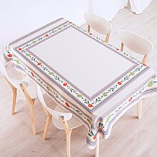 140*200cm beige Geblümt Aboriginal ländlich Instagram Tischdecken Baumwolle leinen Esstisch rechteckigen quadrat nicht bügeln umweltfreundlich Tischtuch