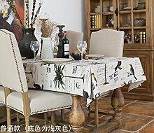 140x220cm beige Vogel Baum Skandinavisch modern Instagram Tischdecken Baumwolle leinen Picknick Esstisch rechteckigen quadrat nicht bügeln umweltfreundlich Tischtuch