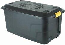 145 L Kunststoff-Aufbewahrungsbox ClearAmbient