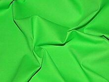147,3cm breit, Meterware, Baumwolle, uni Leinwand Lime grün Kleid Stoff