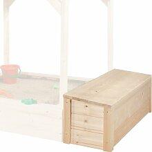 148 L Aufbewahrungsbox Tabaluga aus Holz Weka