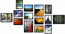14er A Set 13x18 18x24 Fotocollagen Bilderrahmen