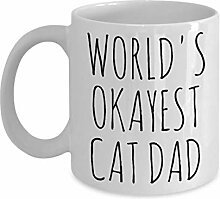 15 Cat Dad Mug Lustig Am Okayesten Okest Crazy