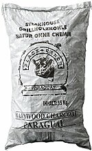 15 kg Black Ranch Paraquay Holzkohle Profi