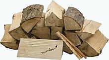 15 kg mumba® Brennholz Kaminholz reine Buche